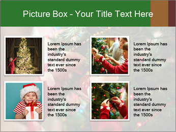 Child hanging decorative toy PowerPoint Templates - Slide 14