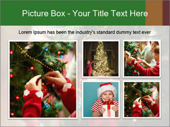 Child hanging decorative toy PowerPoint Templates - Slide 19