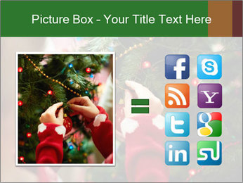 Child hanging decorative toy PowerPoint Templates - Slide 21