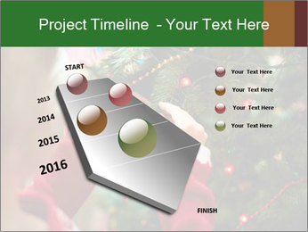 Child hanging decorative toy PowerPoint Templates - Slide 26