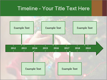 Child hanging decorative toy PowerPoint Templates - Slide 28