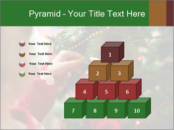 Child hanging decorative toy PowerPoint Templates - Slide 31