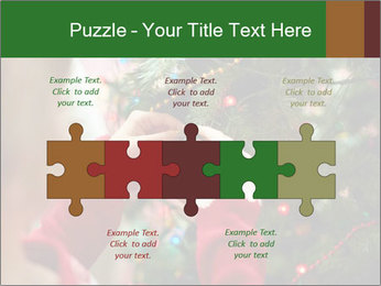 Child hanging decorative toy PowerPoint Templates - Slide 41