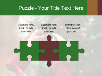 Child hanging decorative toy PowerPoint Templates - Slide 42