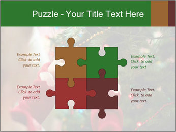 Child hanging decorative toy PowerPoint Templates - Slide 43