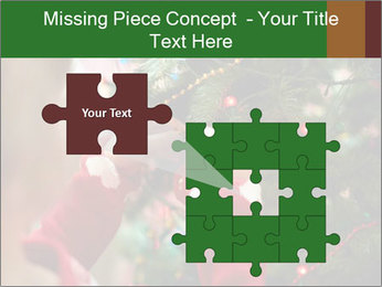 Child hanging decorative toy PowerPoint Templates - Slide 45