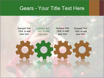 Child hanging decorative toy PowerPoint Templates - Slide 48