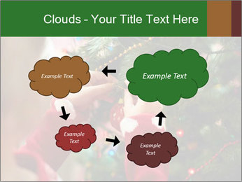 Child hanging decorative toy PowerPoint Templates - Slide 72