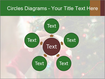 Child hanging decorative toy PowerPoint Templates - Slide 78