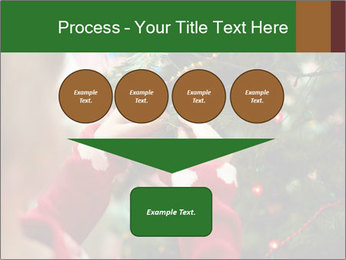 Child hanging decorative toy PowerPoint Templates - Slide 93