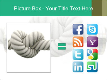 A coarse rope PowerPoint Template - Slide 21