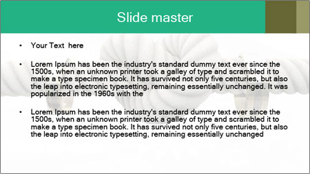 A coarse rope PowerPoint Template - Slide 2