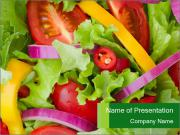 Fresh Salad PowerPoint Templates
