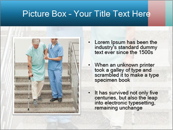 Male nurse assisting a patient PowerPoint Template - Slide 13