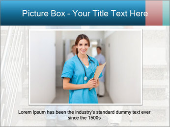 Male nurse assisting a patient PowerPoint Template - Slide 16