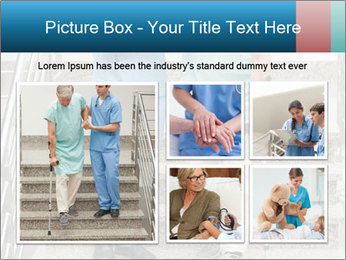 Male nurse assisting a patient PowerPoint Template - Slide 19