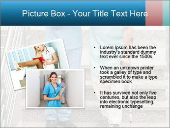 Male nurse assisting a patient PowerPoint Template - Slide 20