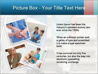 Male nurse assisting a patient PowerPoint Template - Slide 23