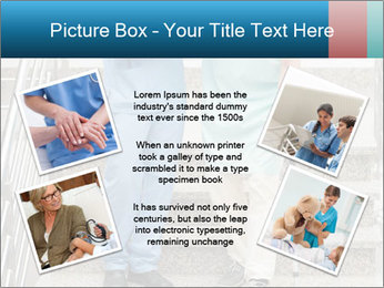 Male nurse assisting a patient PowerPoint Template - Slide 24