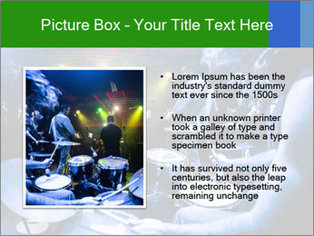 Performances of the musicians PowerPoint Template - Slide 13