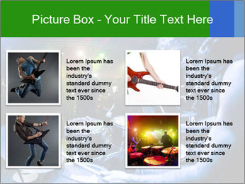 Performances of the musicians PowerPoint Templates - Slide 14
