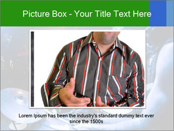 Performances of the musicians PowerPoint Template - Slide 16