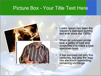 Performances of the musicians PowerPoint Template - Slide 20