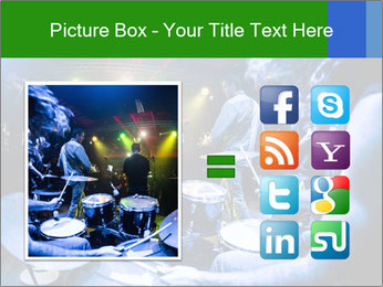 Performances of the musicians PowerPoint Template - Slide 21