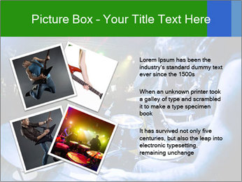 Performances of the musicians PowerPoint Template - Slide 23