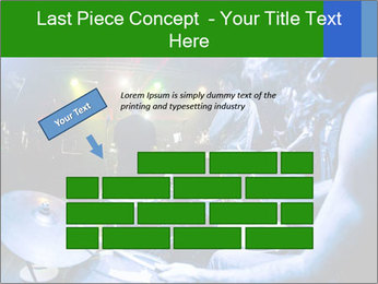 Performances of the musicians PowerPoint Template - Slide 46