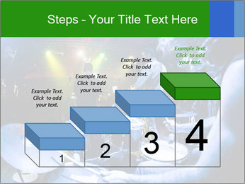 Performances of the musicians PowerPoint Template - Slide 64