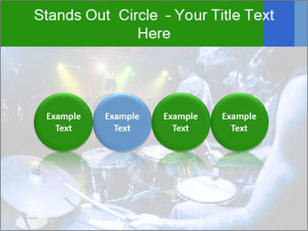 Performances of the musicians PowerPoint Templates - Slide 76