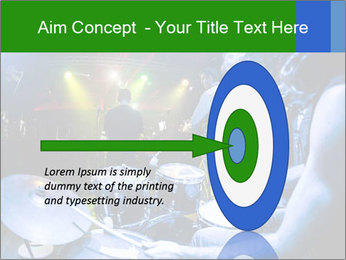 Performances of the musicians PowerPoint Template - Slide 83