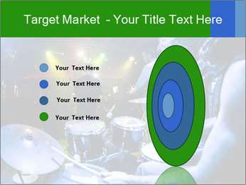 Performances of the musicians PowerPoint Template - Slide 84
