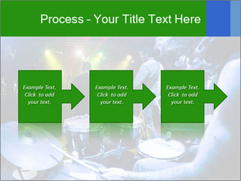 Performances of the musicians PowerPoint Templates - Slide 88