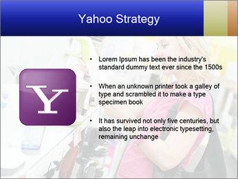 Woman choosing kitchen mixer PowerPoint Template - Slide 11