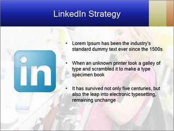 Woman choosing kitchen mixer PowerPoint Templates - Slide 12
