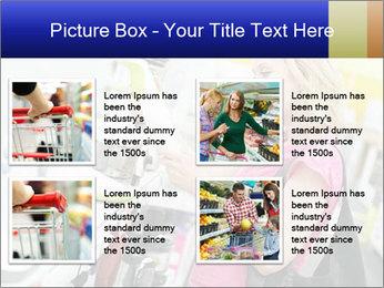 Woman choosing kitchen mixer PowerPoint Template - Slide 14