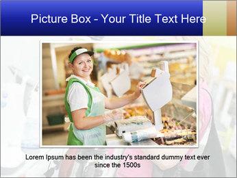 Woman choosing kitchen mixer PowerPoint Template - Slide 15