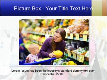 Woman choosing kitchen mixer PowerPoint Template - Slide 16