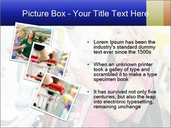 Woman choosing kitchen mixer PowerPoint Template - Slide 17