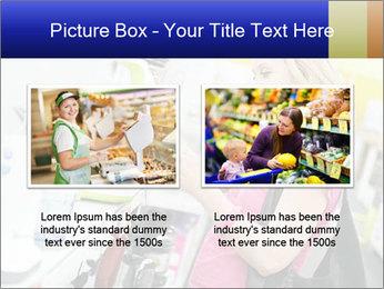 Woman choosing kitchen mixer PowerPoint Template - Slide 18