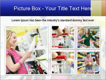 Woman choosing kitchen mixer PowerPoint Templates - Slide 19