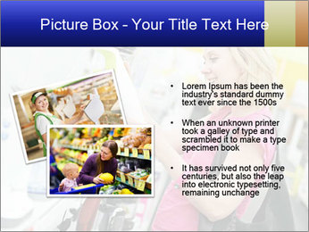 Woman choosing kitchen mixer PowerPoint Templates - Slide 20