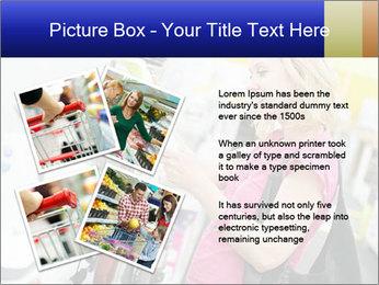 Woman choosing kitchen mixer PowerPoint Template - Slide 23