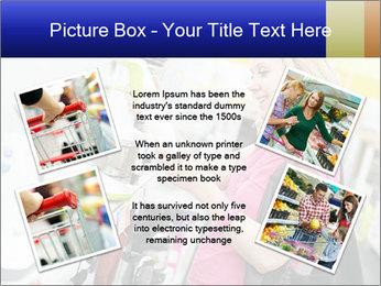 Woman choosing kitchen mixer PowerPoint Template - Slide 24