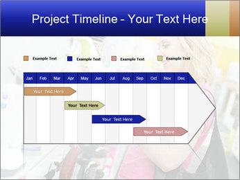 Woman choosing kitchen mixer PowerPoint Template - Slide 25
