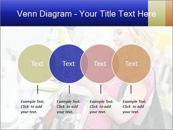 Woman choosing kitchen mixer PowerPoint Template - Slide 32