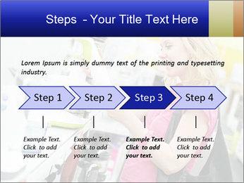 Woman choosing kitchen mixer PowerPoint Templates - Slide 4