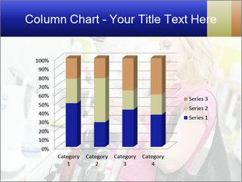 Woman choosing kitchen mixer PowerPoint Template - Slide 50